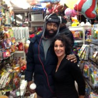 Baron Davis visits the Balloon Saloon