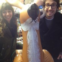 Josh Groban - Holiday shopping at the Balloon Saloon