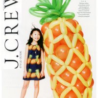 J. Crew Style Guide July 2013 - Balloon Design & Sculptures by Balloon Saloon  View photo gallery