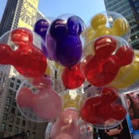Balloon Saloon Balloons featured in Time Square for Disney's Limited Time Magic