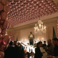 Biz Bash - Balloon-Covered Ceiling Highlight Stella McCartney's Uptown Presentation