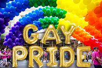 Confetti Balloons Balloon Letters Emoji Fun Pride Parade