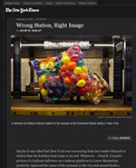 New York Times::Balloons in the News