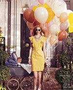 Nordstroms Photo Shoot::Balloons in the News