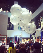 H & M and Marni Event::Balloons in the News
