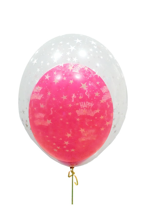 double bubble balloons delivered