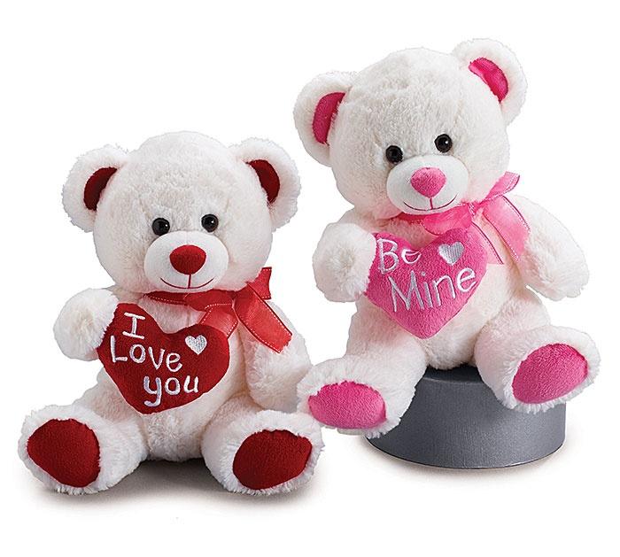Valentines Day : Plush Valentine Teddy Bear