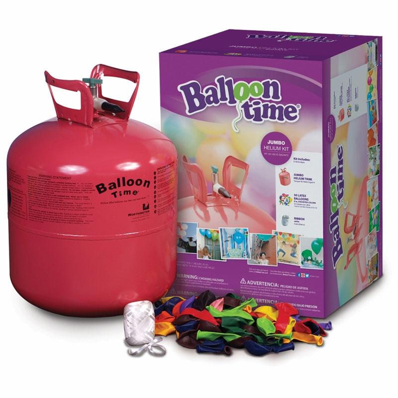 Balloon Time Jumbo Helium Kit