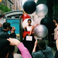 Met Gala Ball Gowns Cause Instagram Frenzy in NYC. Balloons by Balloon SaloonView photo gallery on Vogue