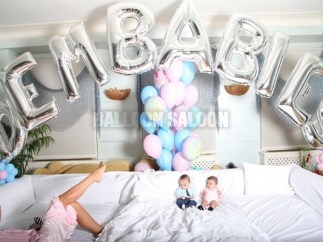 Balloon Letter Banners